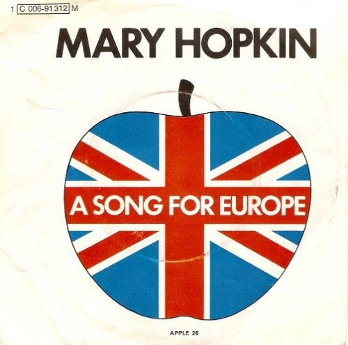 MARY HOPKIN Knock, Knock Who's There Vinyl Record 7 Inch German Apple 1970